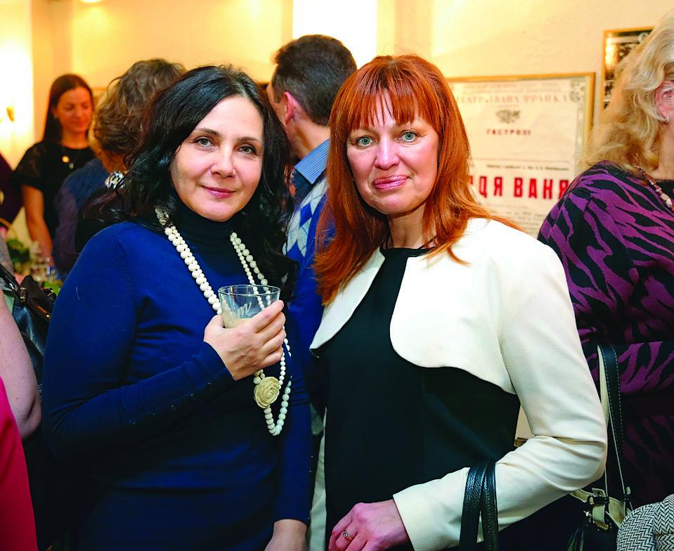 Светлана Люстерник, Ирина Гребиниченко