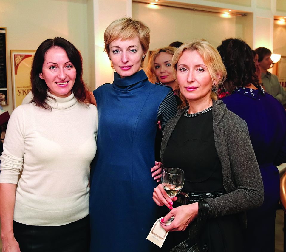 Вероника Львова, Инна Егорова, Оксана Савченко
