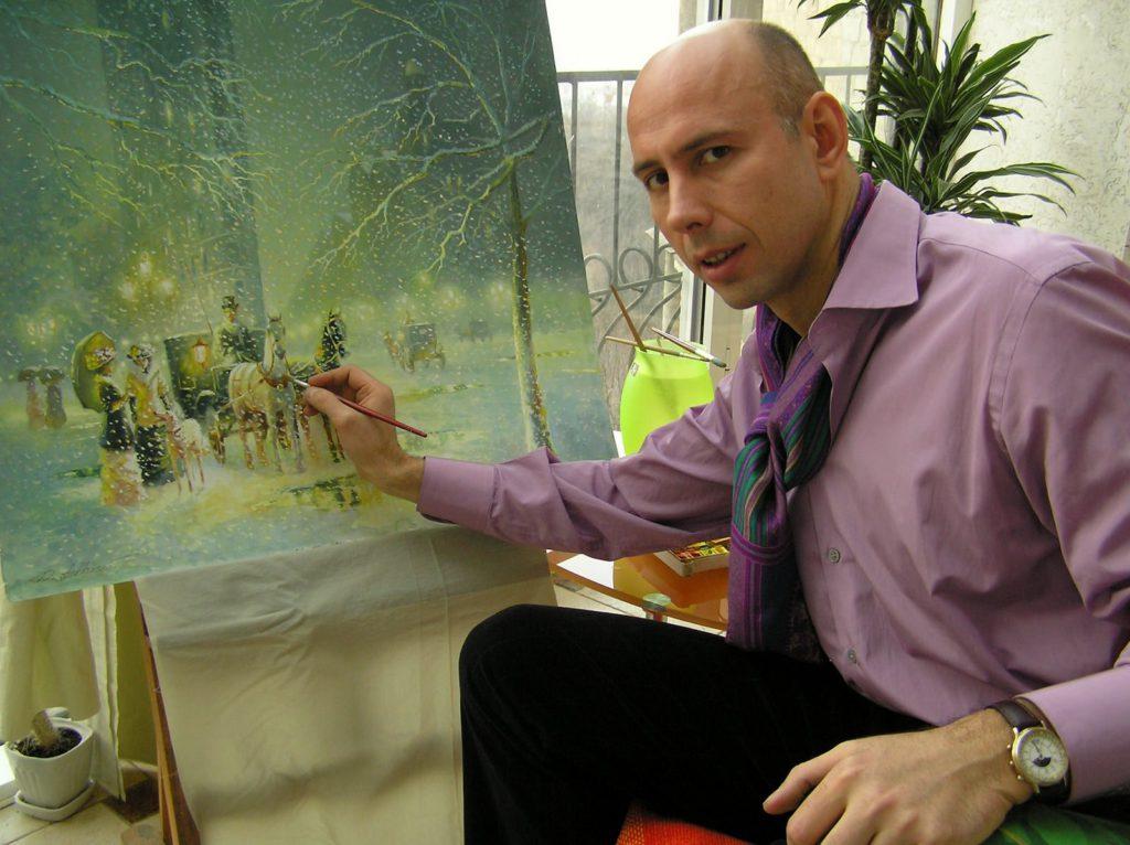 Остановить себя в мистерии живописи? Только не это!