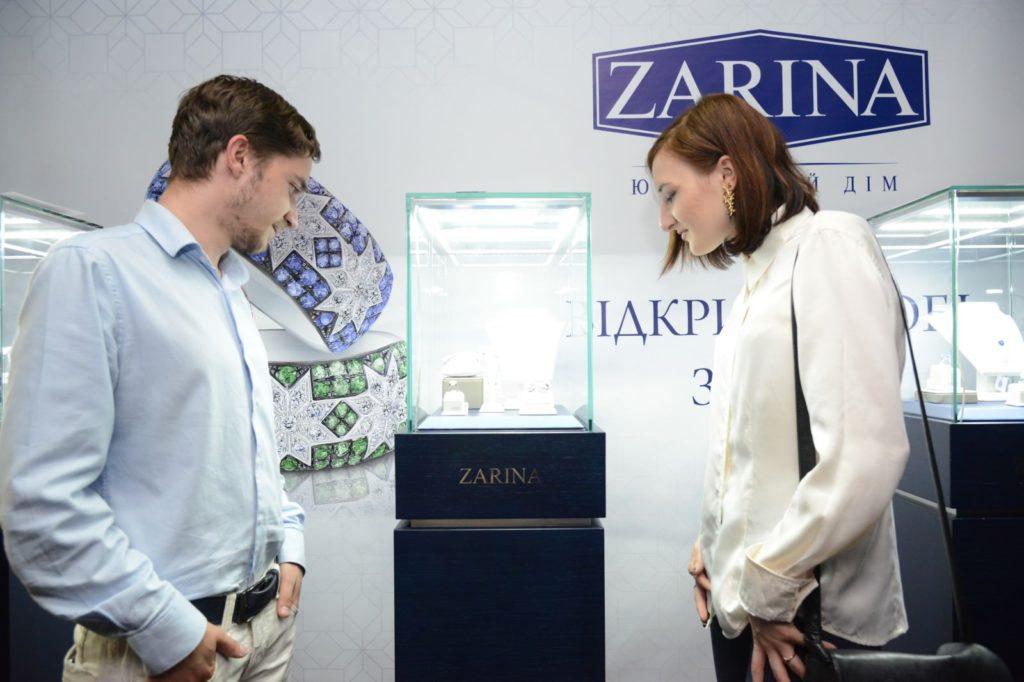 Ювелирная сеть ZARINA дарила гостям роскошные драгоценности
