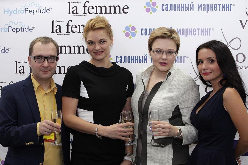 В числе почетных гостей – директор киевского бьюти салона «Beauty Story» Яна Ткаченко