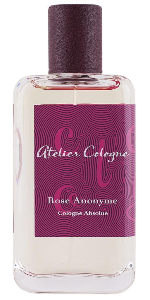Atelier Cologne Rose Anonyme Бергамот, имбирь, роза, ладан, уд, пачули, папирус, бензоин