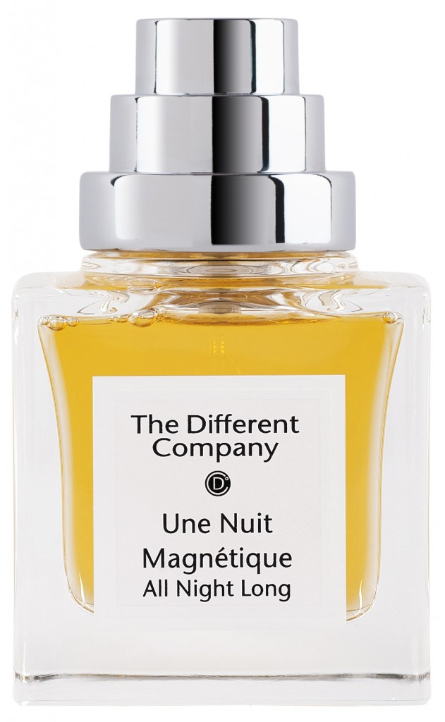 The Different Company Une Nuit Magnétique Имбирь, черника, бергамот, жасмин, роза, тубероза, пачули, амбра, мускус