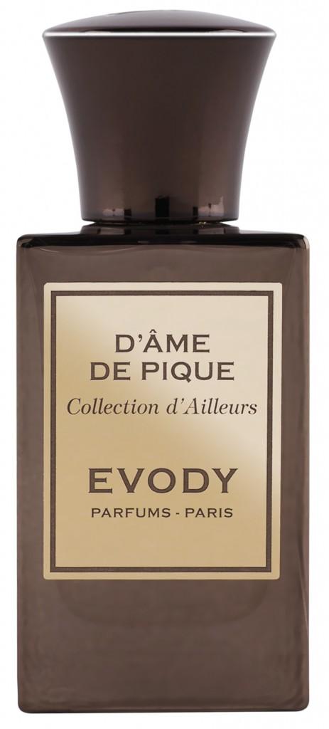 Evody D'âme De Pique Бергамот, груша, абсолю розы и малины, шафран, пачули, дерево, ваниль
