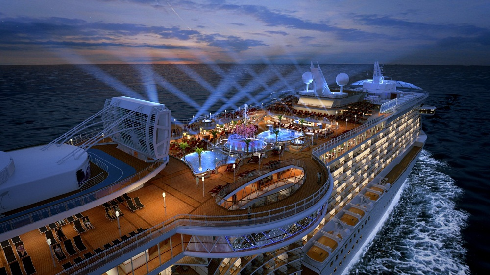 RoyalPrincess_TopDeckAtNight