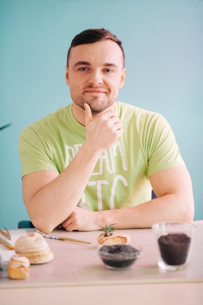 Виктор Тур, дизайнер и флорист