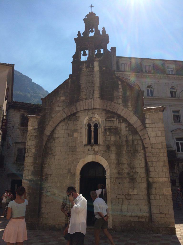 Котор. Церковь Святого Луки