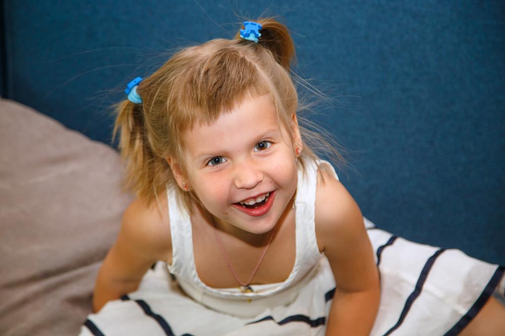 Маргарита Солодун, 4,5 лет, обожает танцевать и может не останавливаться целый день.