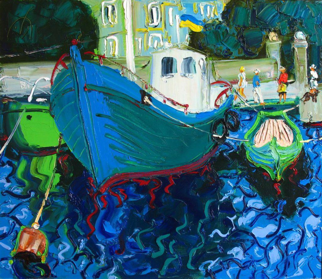 Балаклавськi човни.Пол.Ол.60.70см.2009р..jpg