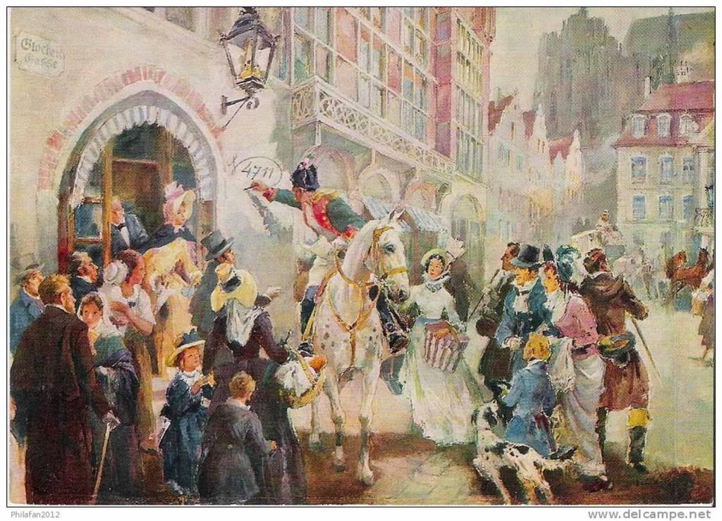 В 1796 году во время французской оккупации, французский генерал Дорьер приказал прорнумеировать все дома Кельна. Дом Вильгельма Мюленса получил номер 4711, который затем - в 1875 году - стал зареги- стрированным товарным знаком самого известного одеколона в мире. А родилось название по номеру дома.