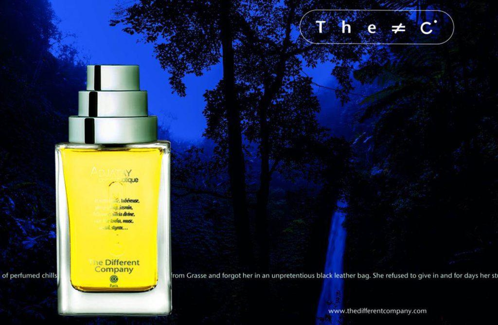 Новый аромат The Different Company ADJATAY cuir narcotique по мнению  экспертов станет абсолютным лидером этого лета.