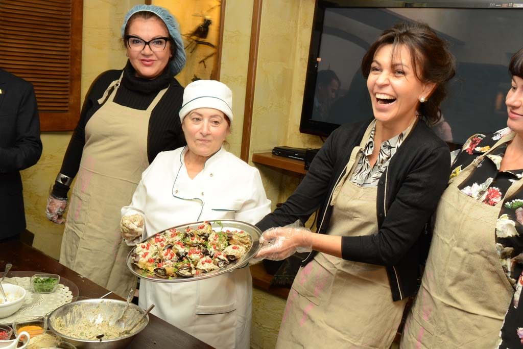 Мастер-класс грузинской кухни