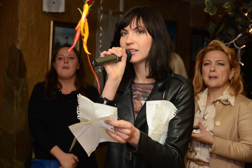 Поэтесса Фекла Фортель