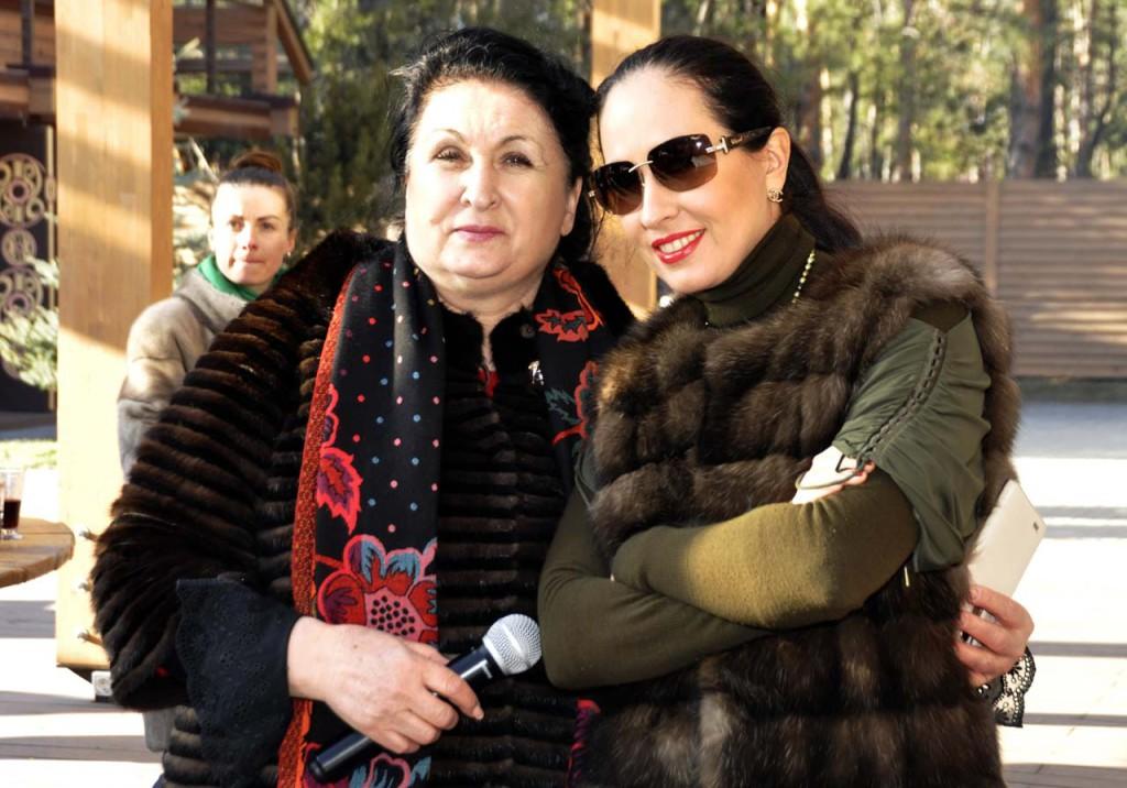Галина Лосева с дочерью Оксаной
